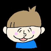 สติ๊กเกอร์ไลน์ Japanese Boy