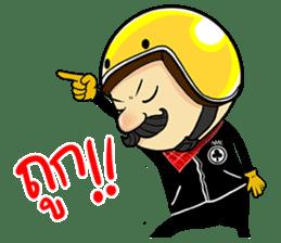 Retro Man 80's sticker #7610184