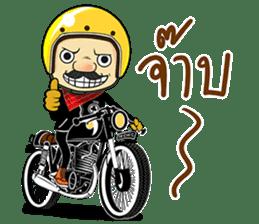 Retro Man 80's sticker #7610201