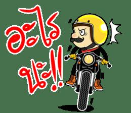 Retro Man 80's sticker #7610212