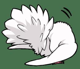 Cute Pigeon2 sticker #7616023