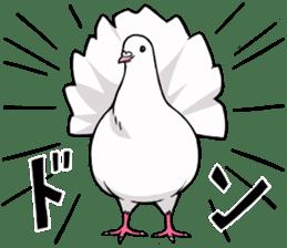 Cute Pigeon2 sticker #7616027