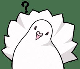 Cute Pigeon2 sticker #7616043