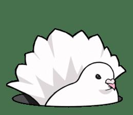 Cute Pigeon2 sticker #7616046