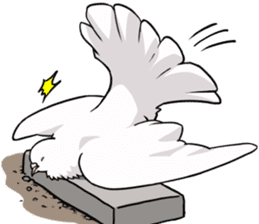 Cute Pigeon2 sticker #7616048