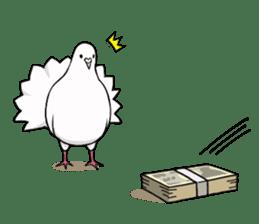 Cute Pigeon2 sticker #7616053