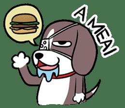 Puffy Beagle sticker #7618592