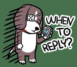 Puffy Beagle sticker #7618594