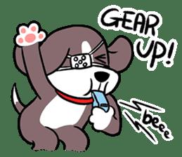 Puffy Beagle sticker #7618599