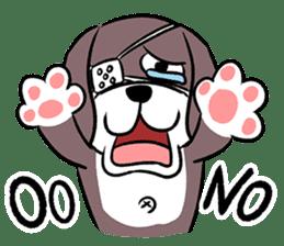 Puffy Beagle sticker #7618600