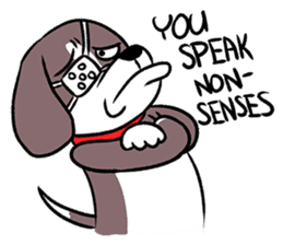 Puffy Beagle sticker #7618601