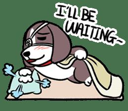 Puffy Beagle sticker #7618603