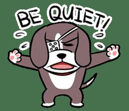 Puffy Beagle sticker #7618606