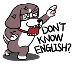 Puffy Beagle sticker #7618610