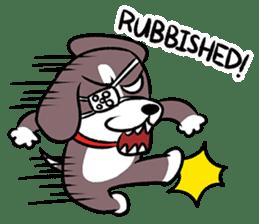 Puffy Beagle sticker #7618612
