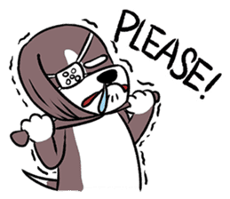 Puffy Beagle sticker #7618613