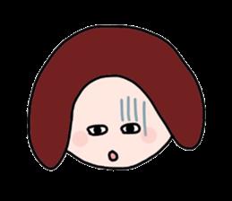 My mother yells 3 sticker #7618730