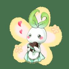 Plant Rabbit sticker #7620038