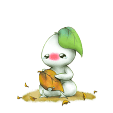 Plant Rabbit sticker #7620041