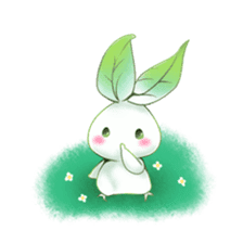 Plant Rabbit sticker #7620042