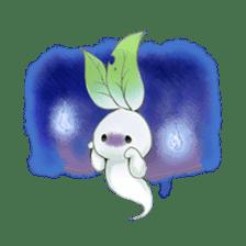 Plant Rabbit sticker #7620043