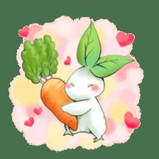 Plant Rabbit sticker #7620044