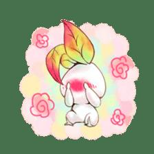 Plant Rabbit sticker #7620045