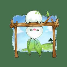 Plant Rabbit sticker #7620046