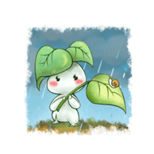 Plant Rabbit sticker #7620047