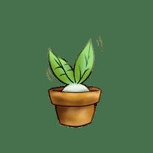 Plant Rabbit sticker #7620049