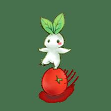 Plant Rabbit sticker #7620052