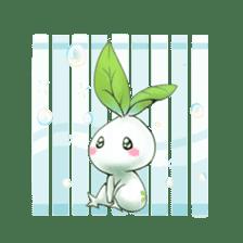 Plant Rabbit sticker #7620053