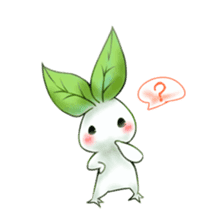 Plant Rabbit sticker #7620054