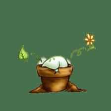 Plant Rabbit sticker #7620055