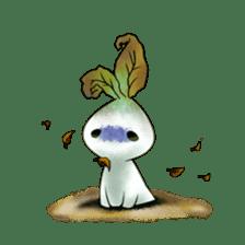 Plant Rabbit sticker #7620056