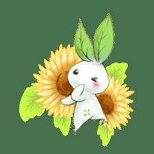 Plant Rabbit sticker #7620057