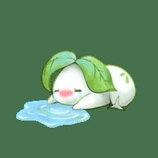 Plant Rabbit sticker #7620058