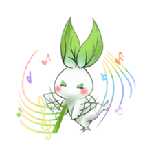 Plant Rabbit sticker #7620060