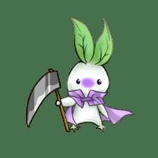 Plant Rabbit sticker #7620061