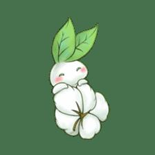 Plant Rabbit sticker #7620062
