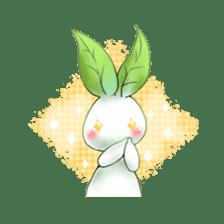Plant Rabbit sticker #7620065