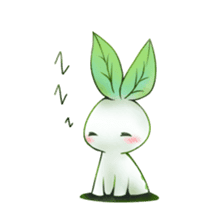 Plant Rabbit sticker #7620067