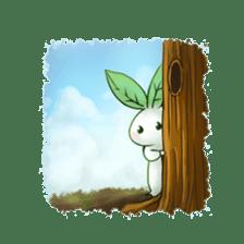 Plant Rabbit sticker #7620068
