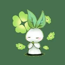 Plant Rabbit sticker #7620069