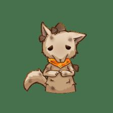 Plant Rabbit sticker #7620070