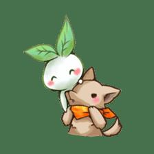 Plant Rabbit sticker #7620074