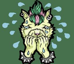 W Sunthorn's Anthropomorphic Oddities sticker #7626507