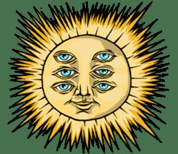 W Sunthorn's Anthropomorphic Oddities sticker #7626521