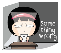 Aromi Grumpy Girl (EN) sticker #7628442