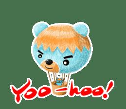 Mr. Aokuma -BlueBear- sticker #7632420